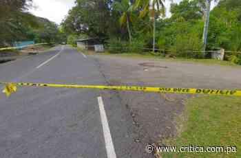 De un tiro en la cabeza matan a hombre en Portobelo - Crítica Panamá