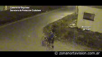 En General Pacheco, el COT detuvo a un hombre que circulaba en bicicleta con una planta de marihuana - Zona Norte Visión