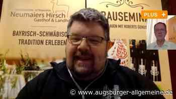 Wie das Bier vom Hirsch in Attenhofen online verkostet wird - Augsburger Allgemeine