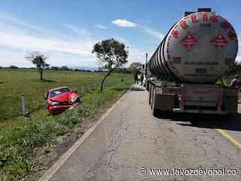 Accidente de tránsito en la vía Morichal — Tilodirán, deja una persona muerta y otra herida - Noticias de casanare   La voz de yopal - La Voz De Yopal