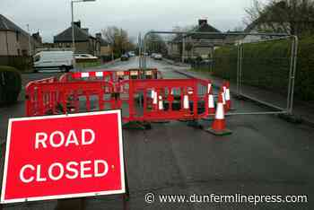Fife Council set to fill massive sinkhole in Valleyfield street - Dunfermline Press