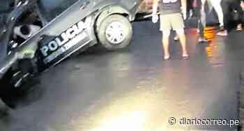 Policías se salvan de morir tras despiste de patrullero en Tumbes - Diario Correo