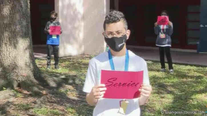 'The Message Of Love Continues Now': Service Projects Honor Those Who Died In Parkland School Shooting