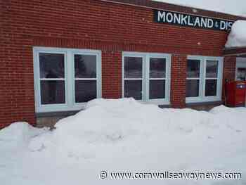 Monkland & District Community Center awarded $20K for upgrades - Cornwall Seaway News