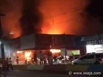 Incêndio destrói supermercado no Cabo de Santo Agostinho - LeiaJá