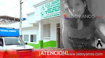 Judicial Jovencita murió tras una presunta negligencia médica en Saladoblanco - Laboyanos.com