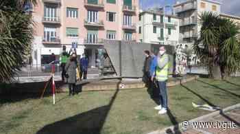 Albissola Marina, restauro Monumento ai Caduti: team di Unige esegue il rilievo 3D - IVG.it