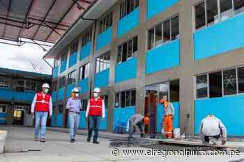 Morropón: avance de reconstrucción de IE Andrés Avelino Cáceres de Chulucanas es del 98% - El Regional