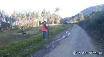 La Libertad: remodelarán 23 km de vía en Santiago de Chuco con 16 millones de soles LRND - LaRepública.pe