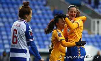 Reading Women 1-1 Everton Women: Everton's Champions League hopes fade further