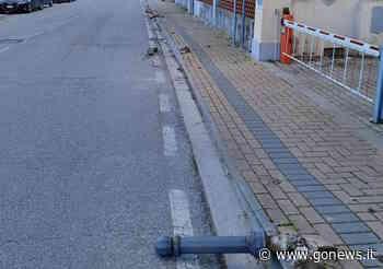 Vandali in azione a Collesalvetti in via Roma - gonews