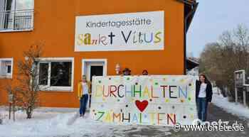 """Motto """"Zamhalten"""" beflügelt Kindertagesstätte St. Vitus Schnaittenbach zu außergewöhnlichen Taten - Onetz.de"""