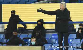 Carlo Ancelotti blames Everton defeat by Fulham on fatigue after midweek FA Cup win over Tottenham