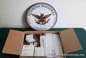 Guardia Nacional decomisó medicamento controlado en el Aeropuerto de San Luis Potosi - 88.9 Noticias