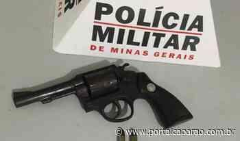 Policiais apreendem arma em Manhumirim - Portal Caparaó
