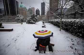 Second snow storm forecast to hit south coast of British Columbia - Richmond News