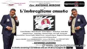Omaggio a Nino Taranto, in streaming Merone con 'L'imbroglione onesto' - laProvinciaOnline.info