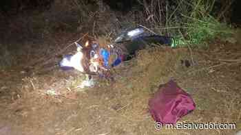 Dos muertos en accidente de tránsito en Conchagua, La Unión - elsalvador.com