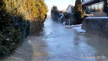 Rohrbruch in Herrsching: Tausende Menschen ohne Trinkwasser - BR24