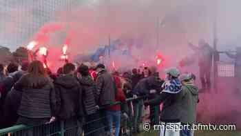 Bordeaux: chants, fumigènes... les supporters girondins enflamment le Haillan avant l'OM - RMC Sport