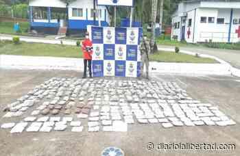 Armada de Colombia incautó cargamento de marihuana en Juradó, Chocó - Diario La Libertad