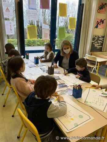 À Bois-Guillaume, fini le béton dans les cours d'école ! - Paris-Normandie
