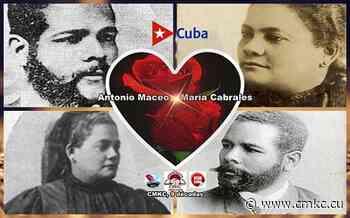 Antonio Maceo y su esposa María Cabrales - CMKC