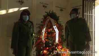 Rinden santiagueros tributo a José Maceo en el aniversario 172 de su natalicio - tvsantiago - El sitio web de la televisión en Santiago de Cuba