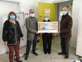 CD&V geeft cheque aan De Eglantier
