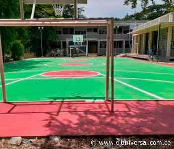 Fondo de Adaptación entrega nueve sede educativa en Tomala (Majagual) - El Universal - Colombia