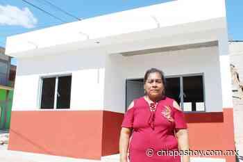 Reconocen familias de Suchiapa trabajos de reconstrucción de la Provich » Diario Chiapas Hoy - Diario Chiapas Hoy