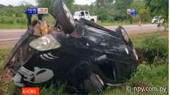 Quiindy: Conductores bajo efecto del alcohol protagonizan grave accidente | Noticias Paraguay - NPY