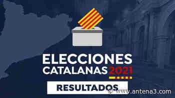 Resultados de las elecciones de Cataluña 2021 en Sora: Recuento, escrutinio y última hora en directo - Antena 3 Noticias