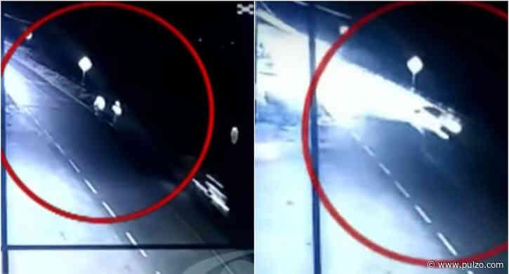 Aparece video que detalla cómo ocurrió trágico accidente que dejó 2 muertos en Sibaté - Pulzo.com