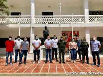 Pie de fuerza en Juan de Acosta se fortalece con 30 policías y seis motos - EL HERALDO