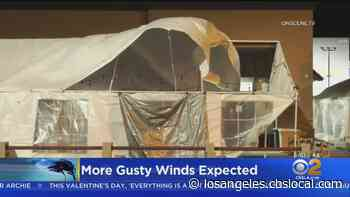 Gusty Winds Possible Monday Across Southland