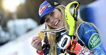 Shiffrin Wins Record Sixth World Championship Title