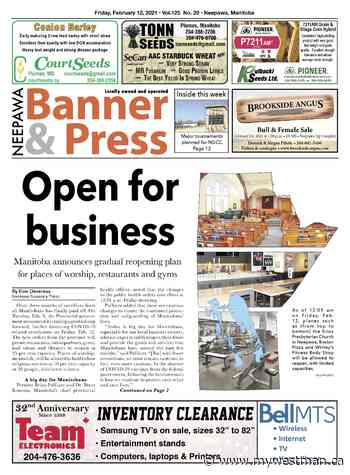 Friday, February 12, 2021 Neepawa Banner & Press - myWestman.ca