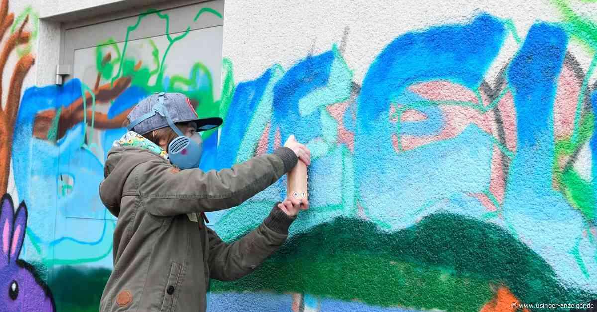 Zwei Sprayer in Friedrichsdorf ertappt - Usinger Anzeiger