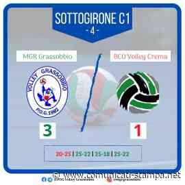 Volley SerieB: prima vittoria per l'MGR Grassobbio. Crema ko al PalaPOG - Comunicati-Stampa.net