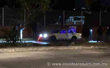 Asesinan a taxista tras ser perseguido en Llano Largo - El Sol de Acapulco
