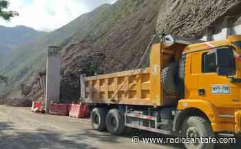 Se restablece el tránsito en la vía Uramita-Dabeiba en Antioquia - Radio Santa Fe