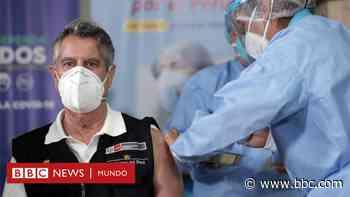 Coronavirus en Perú: el escándalo por las vacunas de covid-19 que ya provocó la renuncia de dos ministros y una investigación contra el expresidente Vizcarra - BBC News Mundo