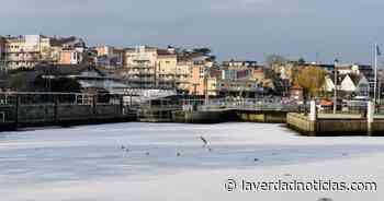 ¡Increíble! El río Támesis se CONGELA en medio de las temperaturas bajo cero - La Verdad Noticias