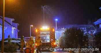 Feuer in Wohngebiet: Todesopfer bei Brand in Walheim - Aachener Zeitung