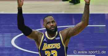 LeBron James wegen Schauspielerei verwarnt, Anti-Flopping-Regeln gebrochen - SPORT1