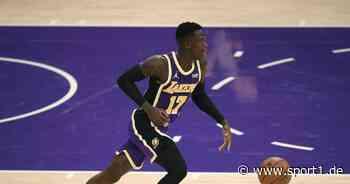 NBA: Dennis Schröder und LeBron James mit den Los Angeles Lakers erfolgreich - SPORT1