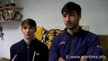 Fos sur Mer - Sports - Les Fosséens Christo et Toma Jr Popov à l'Euro mixte de badminton - Maritima.info