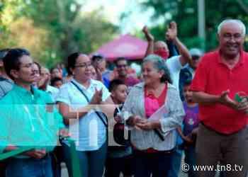 Nandaime: Inauguran proyecto de calle adoquinada en comunidad La Montañita - TN8