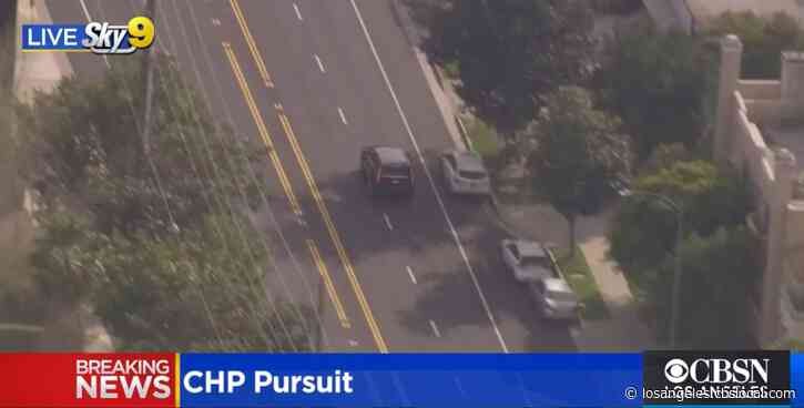 Pursuit Suspect In Custody After Driving Into Studio City Parking Structure
